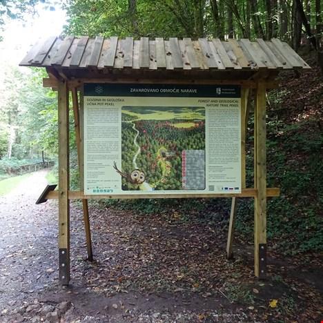 Gozdna in geološka učna pot Pekel